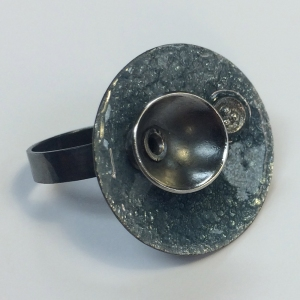 Enamel Ring by Lillian Webster