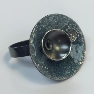 Enamel Ring by Lillian Webster