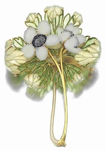Anemones, René Lalique