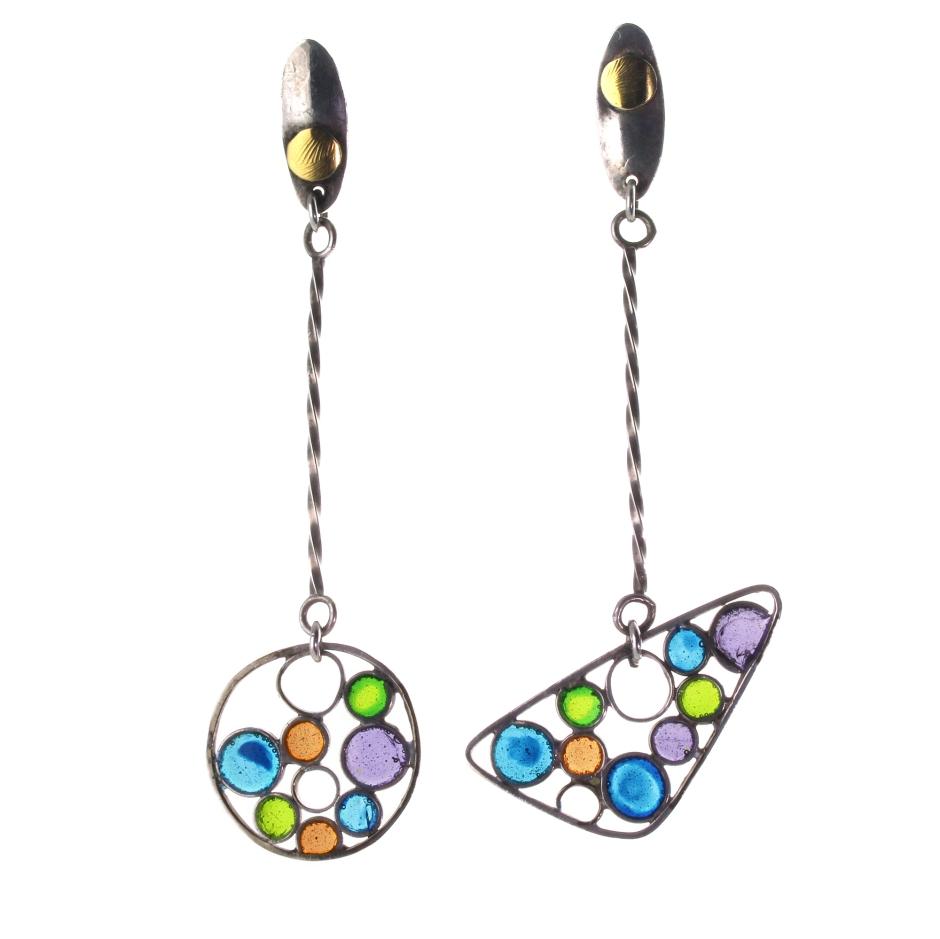 Circles Earrings, Lara Ginzburg